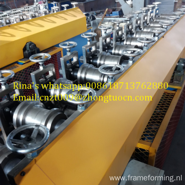 Perforated shutter door making machine perforated shutter door roll forming machine