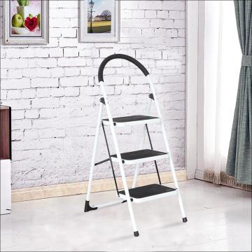 Portable Anti-Slip 3 Step Ladder Folding Lightweight Steel Step Stool Platform 330LBS Capacity