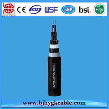 0.6/1KV 27X2.5MM2 COPPER CORE XLPE INSULATED CONTROL CABLE