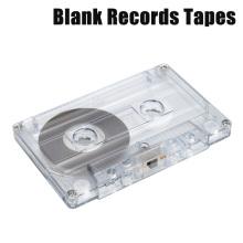 1pcs Audio Cassette Tape Blank Records Speech Recorder Tape Cassette Player Empty Cassette Tape With 60 Minutes Recording