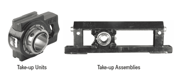 take-up bearing housing
