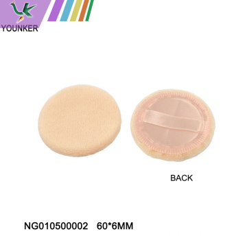 Cotton beauty and makeup sponge puff