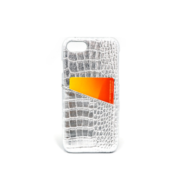 Crocodile Leather Card Holder Phone Case for Iphone