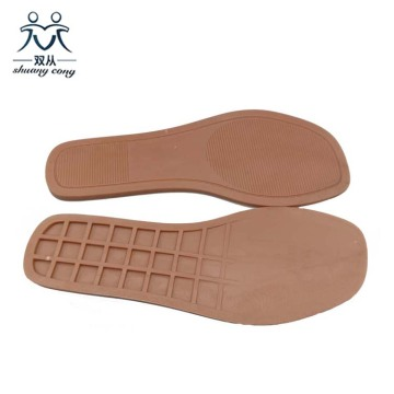 TPR Sole for Square Toe Sandals