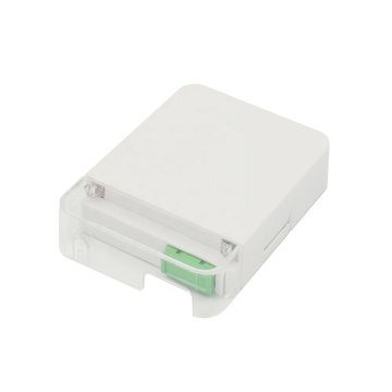 4 SC Ports Fiber Optic Wall Desktop Box