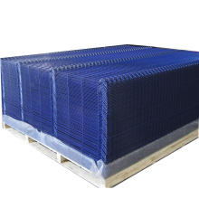 Vinyl Coated Welded Bending 3 Folded Mesh Fence Garden Fence