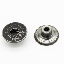 Fancy Alloy Jeans Button for Denim Garments