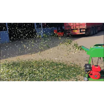 Hay And Green Gasoline Chaff Cutter