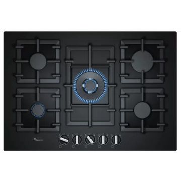Bosch Gas Hob Glass Top 5 Burner
