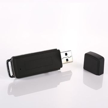 2021 New 8GB Rechargeable Mini USB Flash Drive Recording Dictaphone 70Hr Digital Voice Recorder Portable