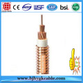 1.5mm2/2.5mm2/4mm2/6mm2/16mm2 Halogen Free Cable Fireproof Low Smoke Cable