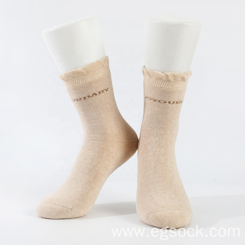 thick thermal warm organic cotton socks for women
