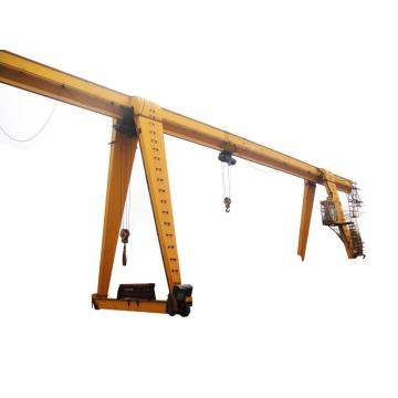 A type single girder gantry crane 10 ton