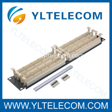 "200 Pair 110 Patch Panel 19"" 2U"