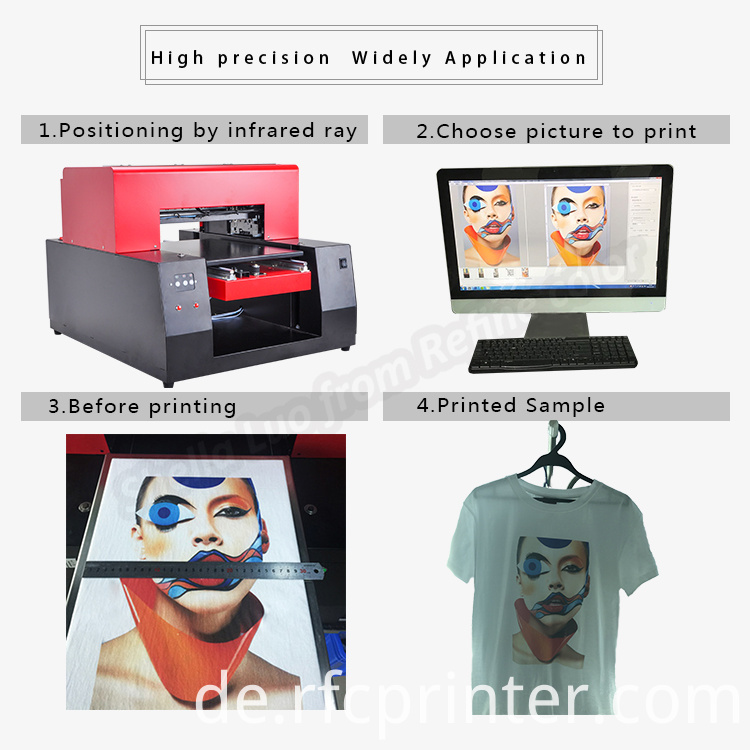 Full Color T Shirt Printing Machine