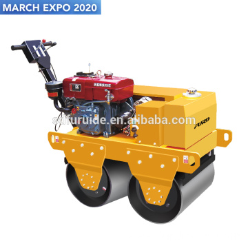 Hand Hold Double Steel Drum Vibratory Road Roller Hand Hold Double Steel Drum Vibratory Road Roller Fyl-S600CS
