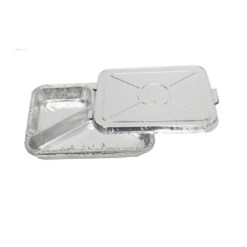 3 compartment Disposable Aluminum Foil Dish