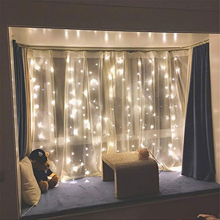 led color changing curtain light