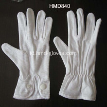 Tentu Grip Cotton Gloves dengan Snap Closure