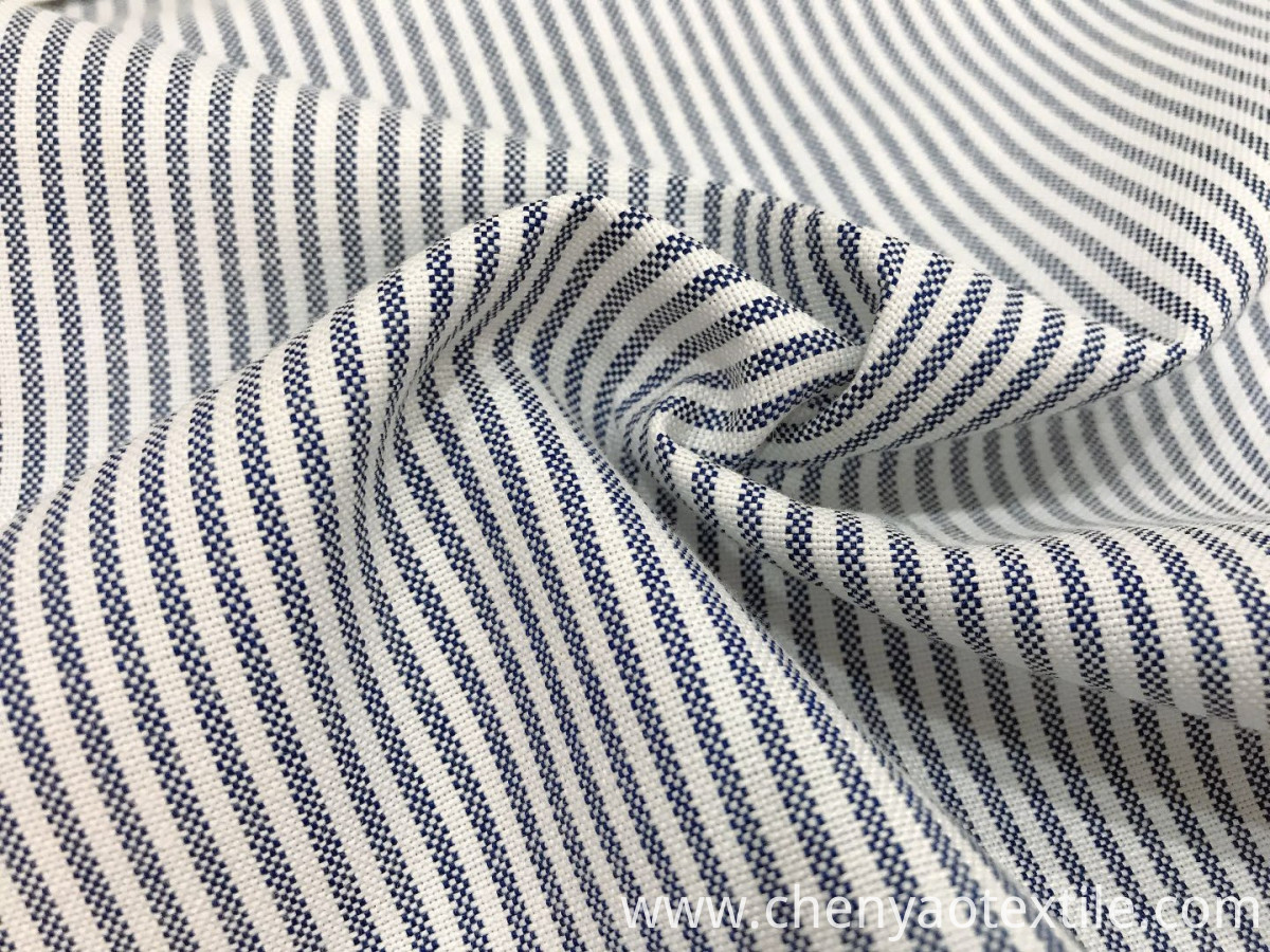 stripe oxford fabric