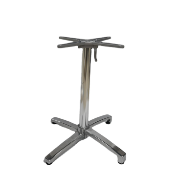 High quality cast aluminum folding restaurant table base