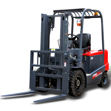 3000kg electric manual forklift truck