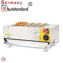 Barbecue machine with stainless steel