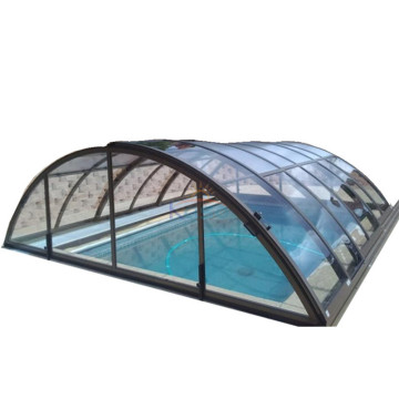 Aluminum Kit Round Diy Greenhouse Swimming Pool Enclosure
