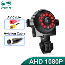 GreenYi 1920*1080P AHD Infrared IR Night Vision HD Car Truck Bus Rear View Front Side Camera For Bus Vehicle Monitor