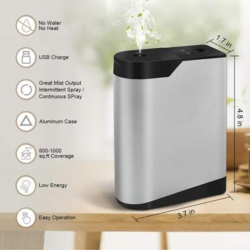 Waterless Usb Essential Oil Diffuser with Battery
