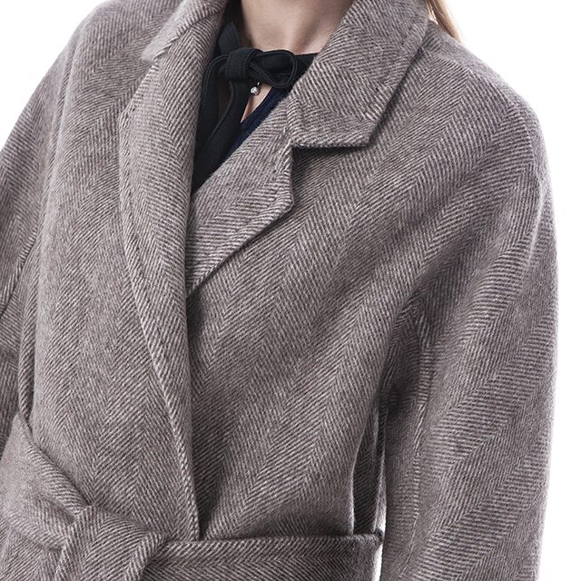 The top of cashmere overcoat