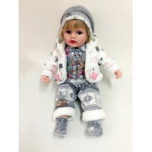 "22"" A Pair Of White Jacket Doll"