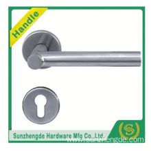 SZD STH-113 stainless steel door handle on rose
