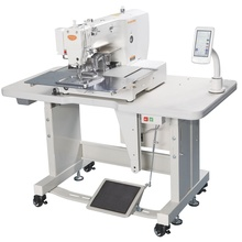 Industrial computerized sewing machine