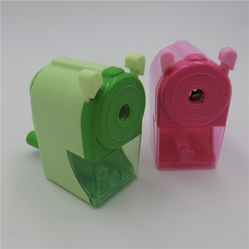 plastic kids pencil sharpener