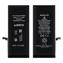 Batterie haute capacité iPhone 6Plus 3410mAh 0 cycle