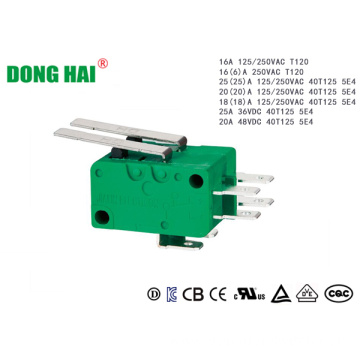 Green Multifunctional Micro Switch For Power Tools