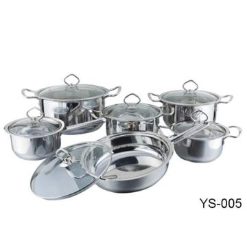 Kitchenware Tri Ply Stainless Steel Cookware Set