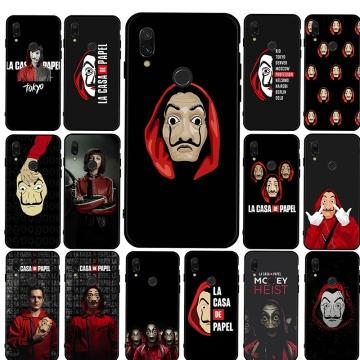Popular Money Heist House Mobile Phone Cover Case For Xiaomi Mi 6 8 A2 Lite 9 A3 9T Pro CC9E 5X 6X F1 9 SE luxury