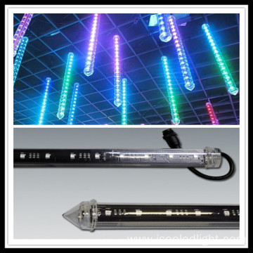 Music led pixel 3d tube for nightclub