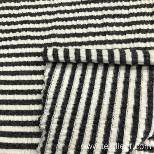 Rinckle S/J Yarn Dyed Fabric