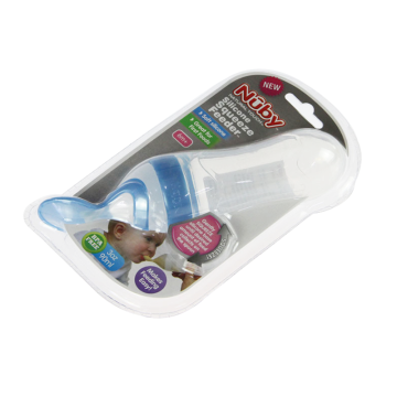 baby bottles packaging tray side blister