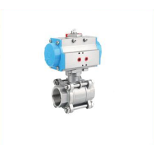 Electric Actuator 3pc Female Ball Valve