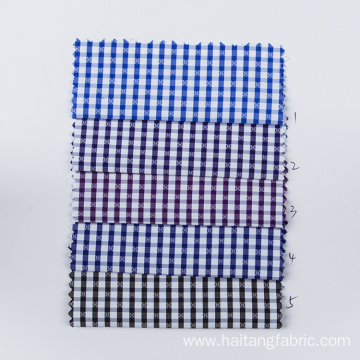 Check Bamboo fabric Plain Fabric Moisture Shirting Fabric