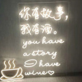 HOUSE DECORATION BOARD LED NEON LETTERS