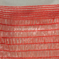PE material orange safety alert road barrier net