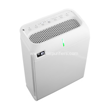 Negtive ion air purifier with humifier