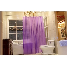 Shower Curtain PEVA Purple Semitransparent