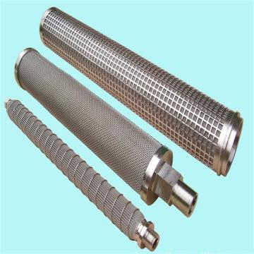 Melt filter housing stainless steel filter