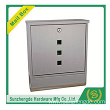 SMB-059SS wholesale stainless steel waterproof mailboxes
